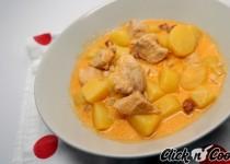 Poulet au chorizo et aux pommes de terre