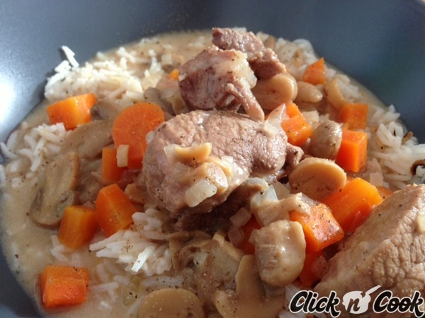 Blanquette de veau soniab cookeo de moulinex les recettes de la communaut - Recette de noel au cookeo ...