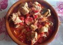 Sauté de porc marengo (Valvanille)