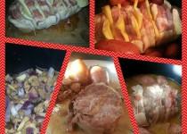 Rôti de porc au fromage et champignons (Euskavalou)