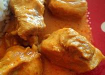 Sauté de porc au curry (Valvanille)